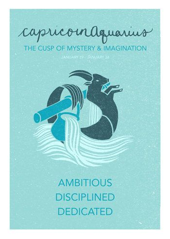 7e933ae56 When I learned about cusps, it made so much sense. I have the pull of #art  from #Aquarius and the pull of self-discipline from #Capricorn!