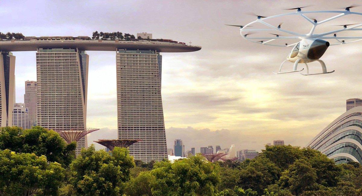 Мы рады представить Volocopter в Сингапуре. Это первый раз, когда вы можете увидеть Volocopter в Азии и занять место в нем. Так что не пропустите и получите свой билет сейчас: https://t.co/482e5Hm4Fp #Volocopter #RotorcraftAsia2019 #технология #startups #gatex https://t.co/cWLUWUq4vw