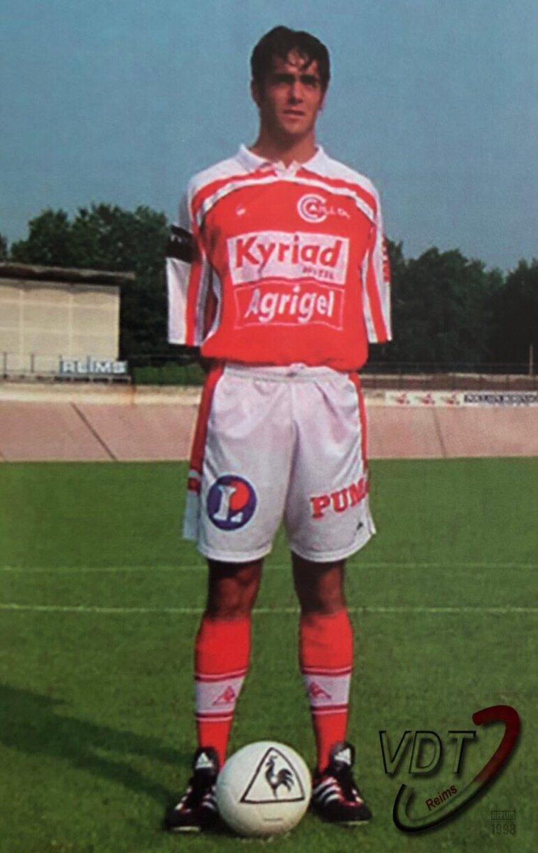 Reims Vdt Retro Benjamin Chicaut Joueur Du Stade De Reims De 2000