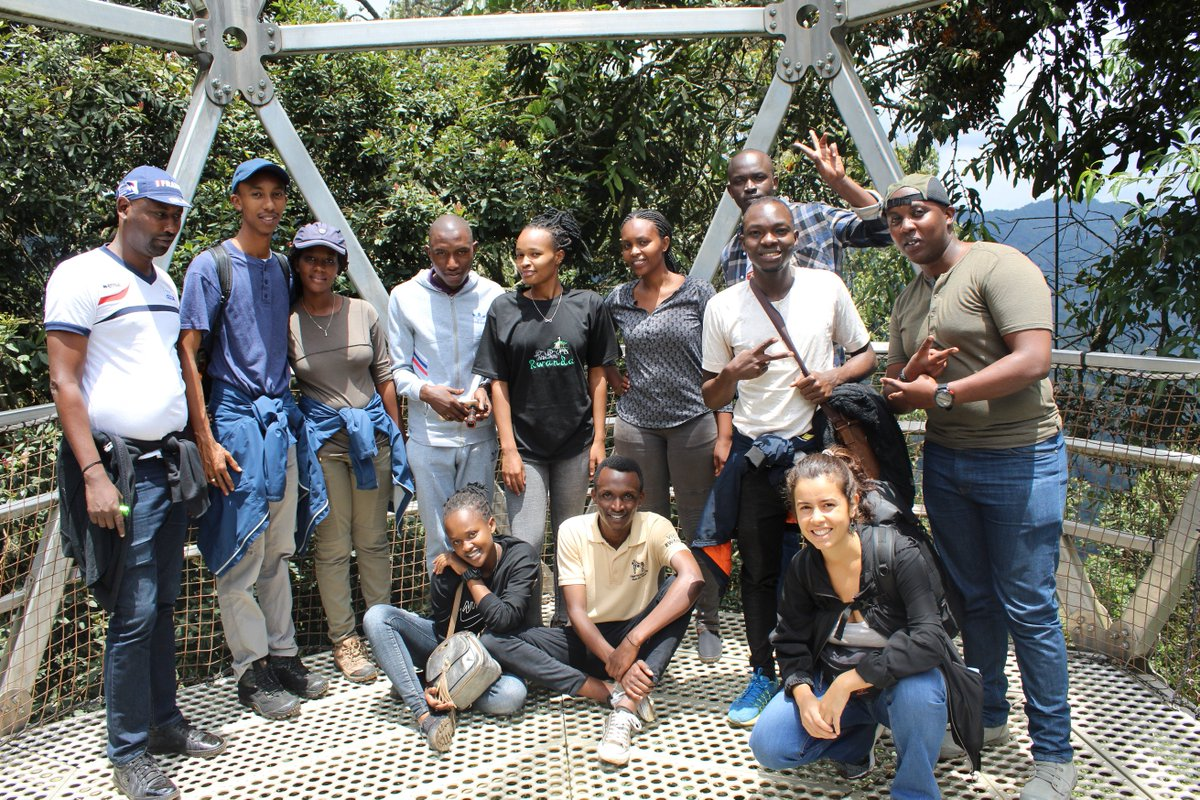 "Again we had a great time with @NyungwePark Merci beaucoup! ""for your exceptional service you provided while visiting Canopy Walk"" Great thanks to the group we traveled with ""You're the reason we stand"" #VisitRwanda #NyungwePark #ThisIsRwanda #Rwandalicious"
