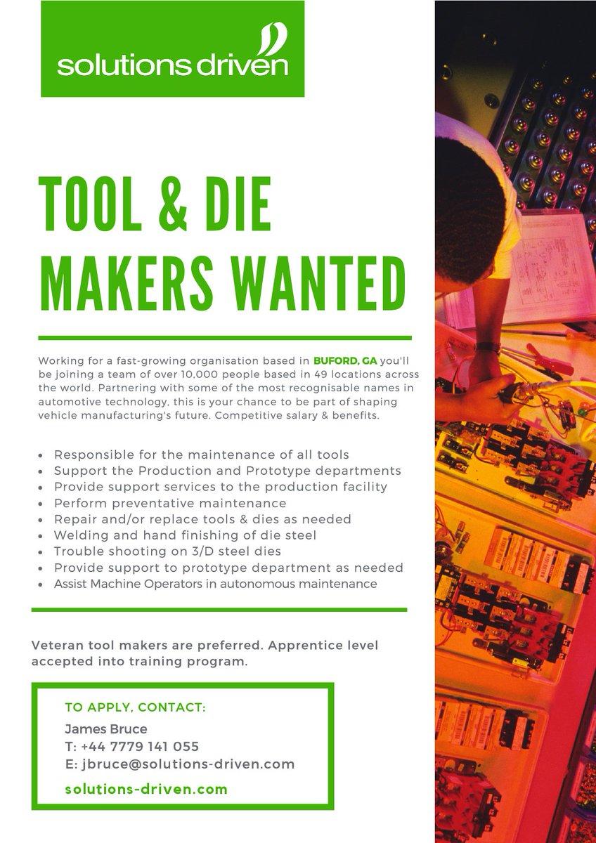 toolmaker hashtag on Twitter
