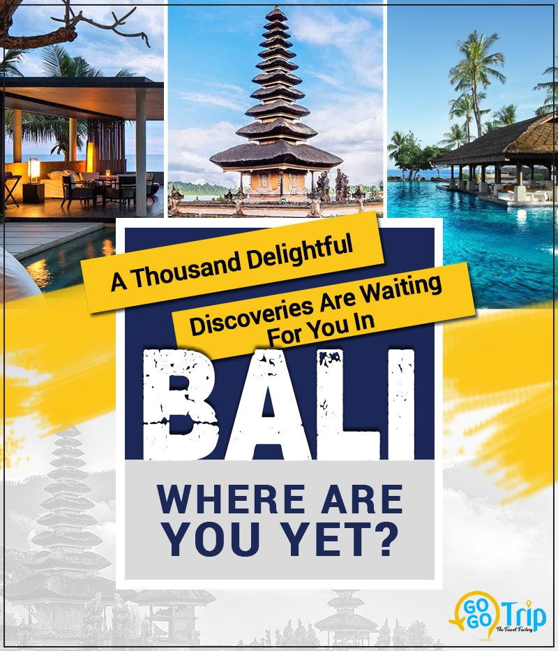 From serene water bodies to the rare of the rarest flora and fauna and the rich Balinese tradition, everything will make it impossible for you to have a dull moment! Book your Bali tickets here: http://bit.ly/2UqtcEw  #BalineseTradition #Travels #BaliTourPackage #GoGoTrippic.twitter.com/OmaSeAby2R