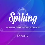 Image for the Tweet beginning: 🚀Trading of SPIKE/BTC is now