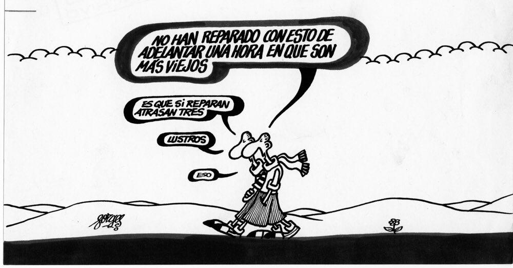 Viñeta publicada en el diario Informaciones, en 1974