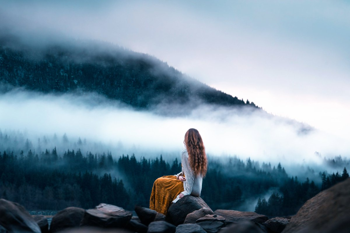 As the fog aversely leaves the bosom of mother earth &dispersing towards the skies; a heavy longing replaces it descending on my heart &besieging me from all sides Hope is a lighthouse in distance guiding me in pitch darkness One day this yearning ends as you show up among mists