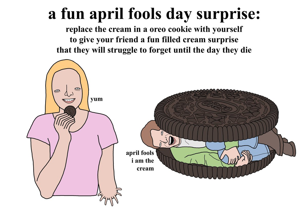 Every Day Seems To Be April Fools Day >> Chris Simpsons Artist On Twitter A Fun April Fools Day Surprise