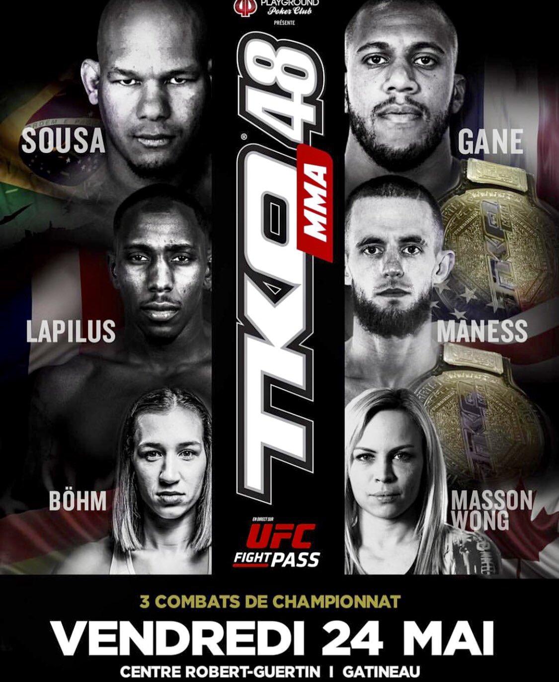 TKO 48 Ciryl Gane Vs Roggers Souza May 24 Discussion, Live