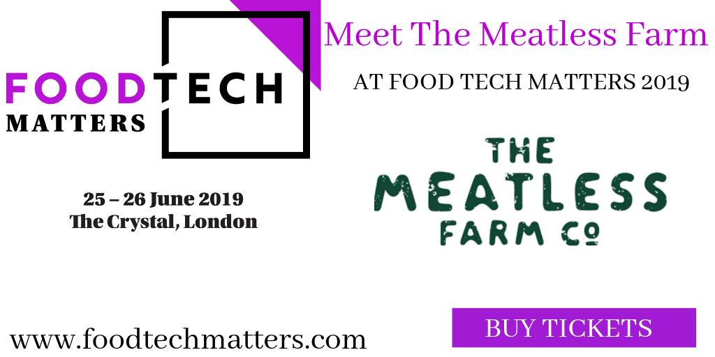 Meet #disruptive #foodtech #startup @MeatlessFarm at #foodtechmatters2019 -  producers of delicious #plantbased #meat alternatives. View more of the #startups attending this year:  http://bit.ly/2UoiT3U