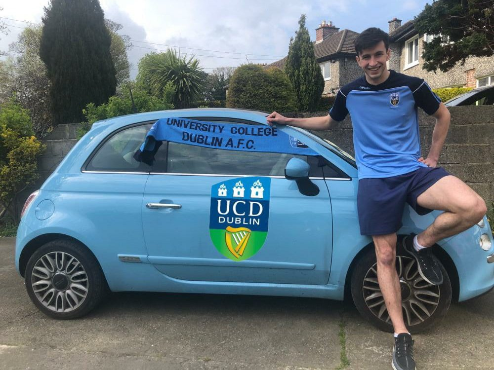 Big thanks to @UCDAFC for the sponsored car and the continued support as always.