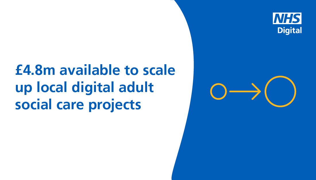 test Twitter Media - £4.8M FUNDING AVAILABLE: Organisations that provide & commission adult #socialcare services are invited to bid for their share of £4.8m to help them scale up local digital #adultsocialcare projects. Read more here: https://t.co/jYph6unEFJ @LGAcomms @CPA_SocialCare https://t.co/2C4txyyZP4