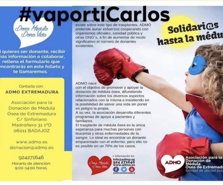 necesitamos tu ayuda para obtener mayor difusión y poder ayudar a Carlos!! 🥊  we need your support in order to give more voices and be useful to Carlos!! 🥊  #vaportiCarlos 🙏