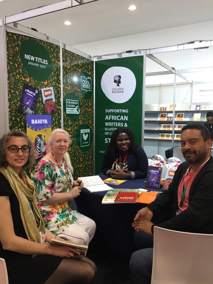 Changing the face of children's publishing @GoldenBaobab @africanbureauHQ     @AlannaMaxBooks @AnnaMMcQuinn @kenwilsonmax<br>http://pic.twitter.com/JA7fJxeC2k