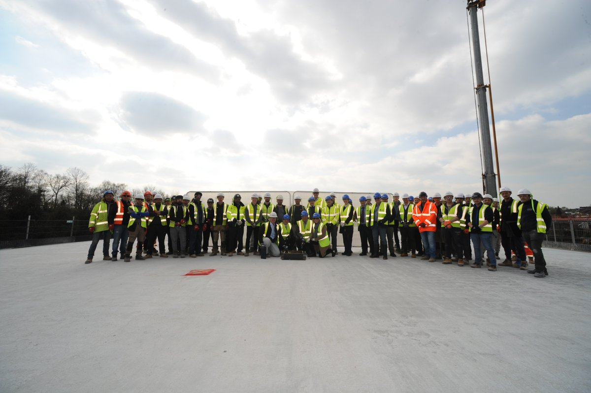 Fantastic to attend the 'Topping out' ceremony on the roof at Baldwins Lane on Thursday. Amazing progress being made. Thanks to all at @kierconstruct. More details:  https://t.co/aaergq6j1v https://t.co/Sxm1E7fZuh