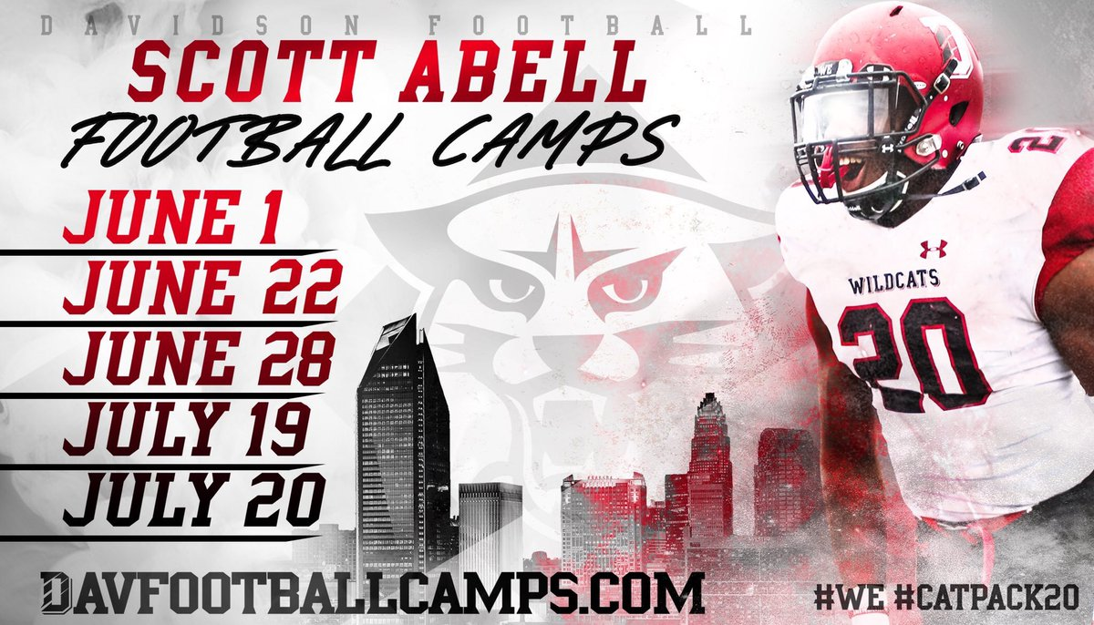 336a41c9cdcb  WE  CATPACK20  ETP http   www.davfootballcamps.com content prospect-camps  …pic.twitter.com TJnD2HL2Wo – at Davidson College