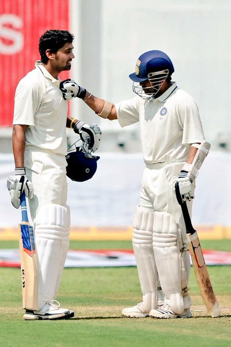Sachin Tendulkar ( messageed: Wishing my teammate, a very happy birthday!  (