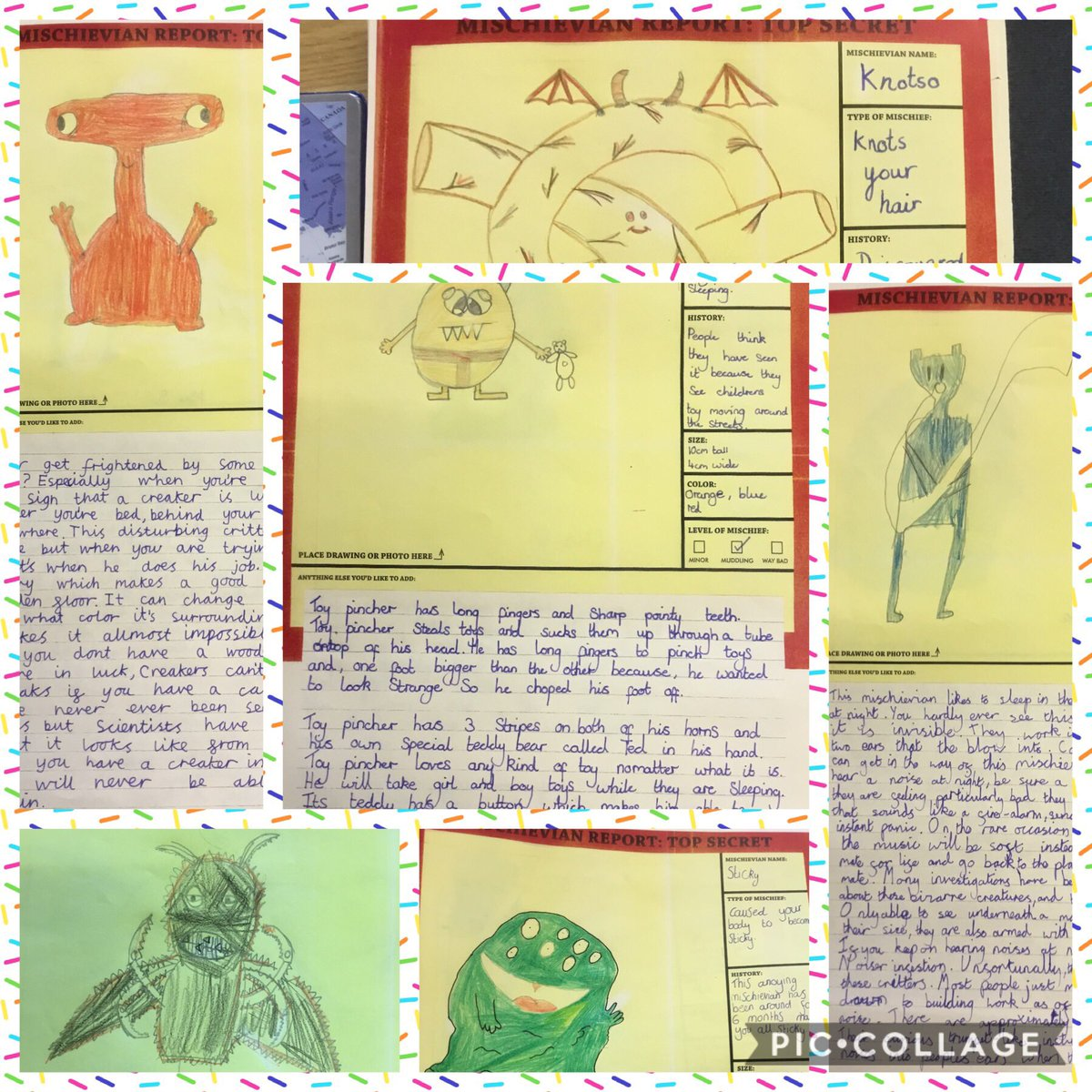 test Twitter Media - We have immersed ourselves in the world of The Mischieveans today! Did you know all of these creatures cause us so much trouble?! @heybilljoyce #gorseyenglish #gorseybookclub https://t.co/KdCXVKPRSn