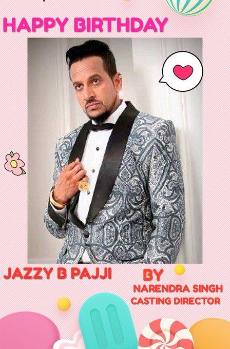 Happy birthday jazzy b pajji