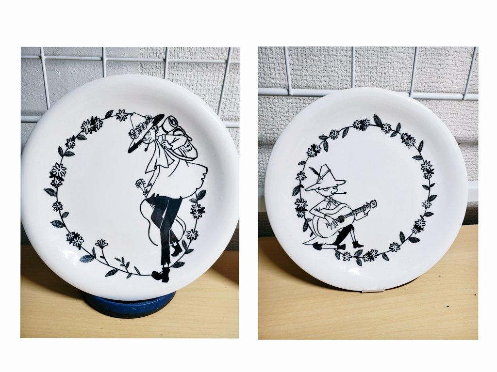 test ツイッターメディア - 自作ムーミン食器できた~!!✨✨ らくやきマーカーで100均 ( ダイソー、セリア ) の白い食器に描いて焼きました。いちばんのお気に入りはティーポットです!ぜんぶ大満足☺️✨  #ムーミン #らくやきマーカー #令和でも仲良くしてくれる人RT #ダイソー #スナフキン #オリジナル #デザイン https://t.co/ARkG2CxX37