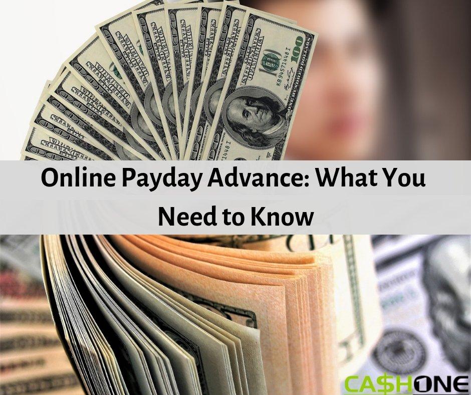 online advance loans