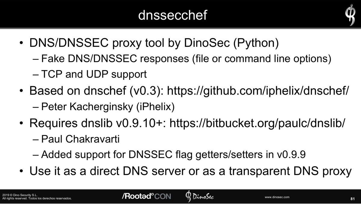 DNSSECChef: DNS/DNSSEC Interception Proxy https://github com