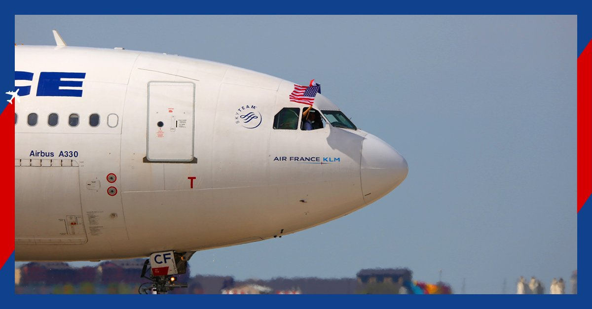 Ouverture de la ligne Paris-Dallas, 13eme destination vers les Etats-Unis ! Découvrez le nord du Texas avec #AirFrance ✈🇫🇷🇺🇸 Notre guide de voyage ici 👉http://bit.ly/ouvertureDallas