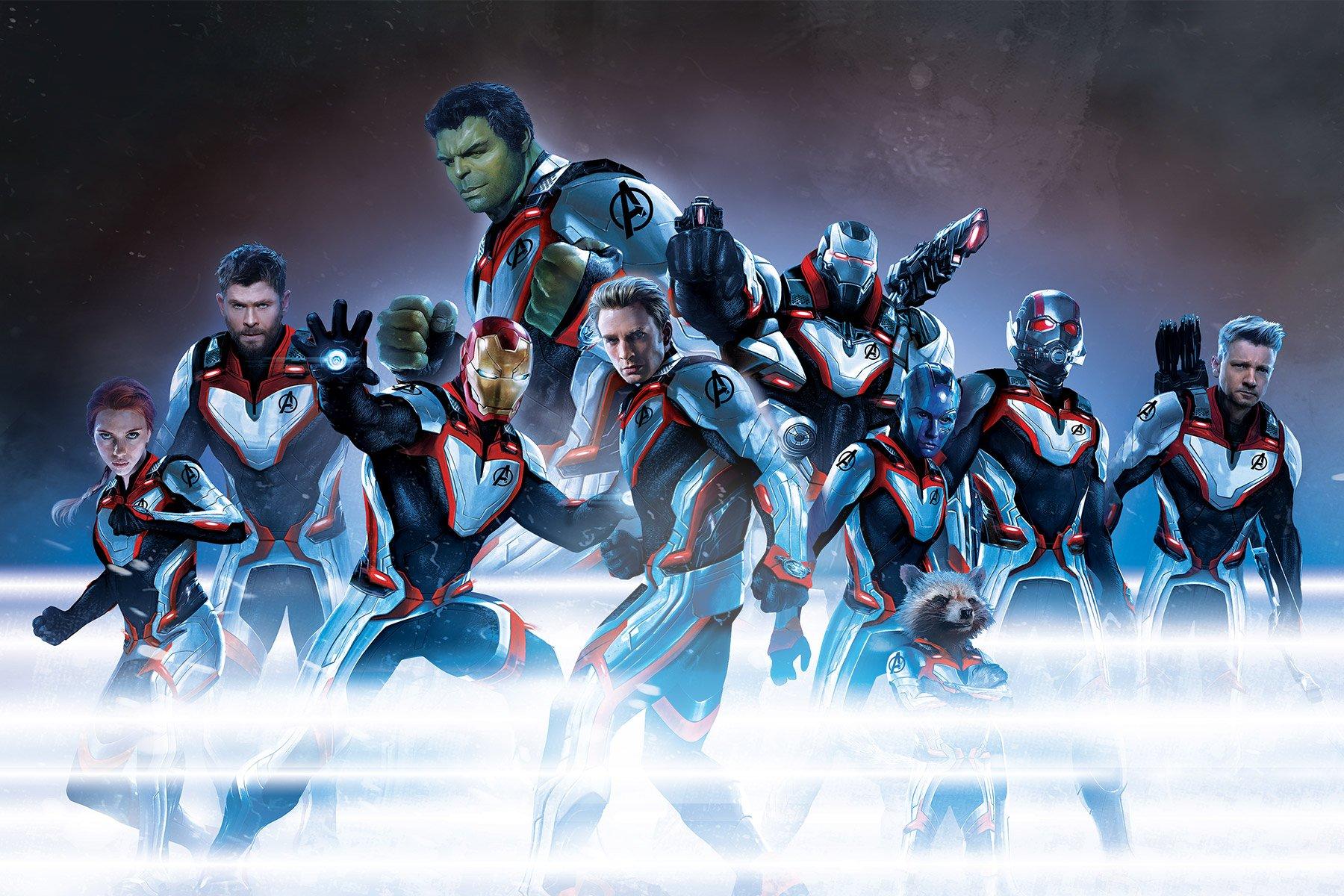 New Hi Res Avengers Endgame Promo Poster Assembles The New Team In