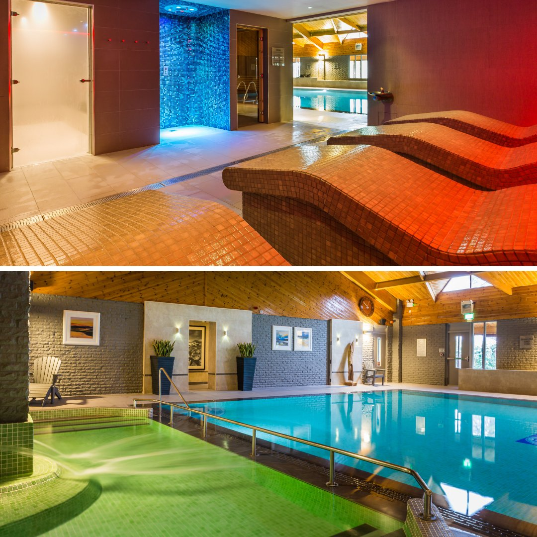 Have you seen our upgraded hotel leisure facilities yet? #arran #auchrannie #swim #relax #upgrade