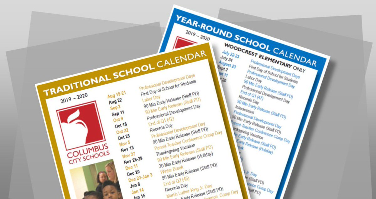 Columbus City Schools Calendar 2020 ColumbusCitySchools on Twitter: