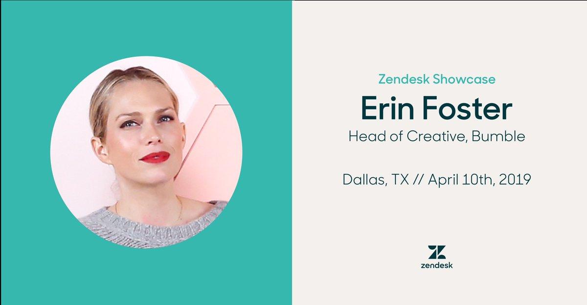 1c6ab32bdcad Catch me at @Zendesk's upcoming #ZendeskShowcase event in Dallas on April  10th. Register for free here: https://zdsk.co/ErinShowcase pic.twitter.com/  ...