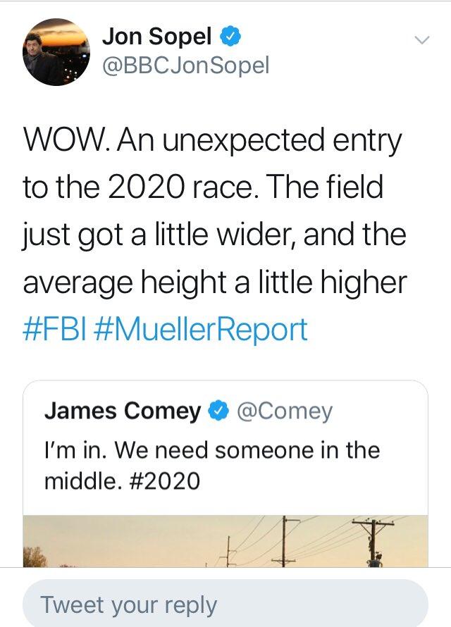 Jon Sopel on Twitter: