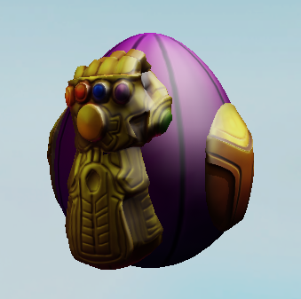 Andrew On Twitter Roblox S Egg Hunt Is Having A Thanos Egg