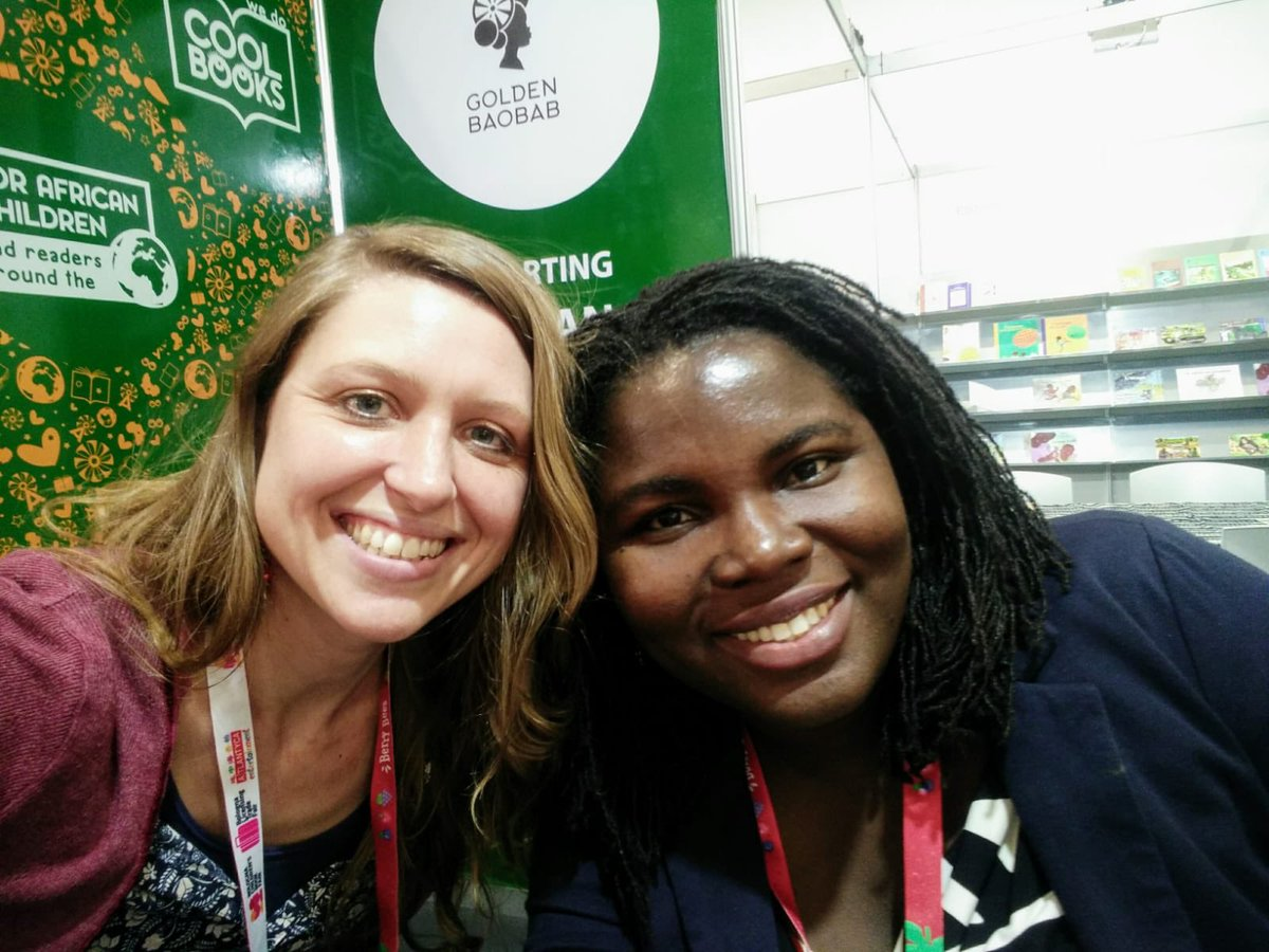 Our lovely Director Alice Curry is really enjoying her time @BoChildrensBook She's meeting lots of amazing publishing friends & colleagues from all over the world, including the fab Deborah @missahenkorah, a #kidlit publisher@afbureau & Cofounder@GoldenBaobab #bolognaBF2019<br>http://pic.twitter.com/chEsUuLWNa