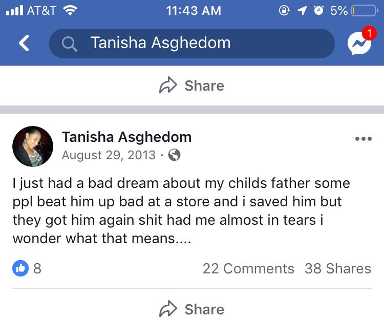 Tanisha asghedom