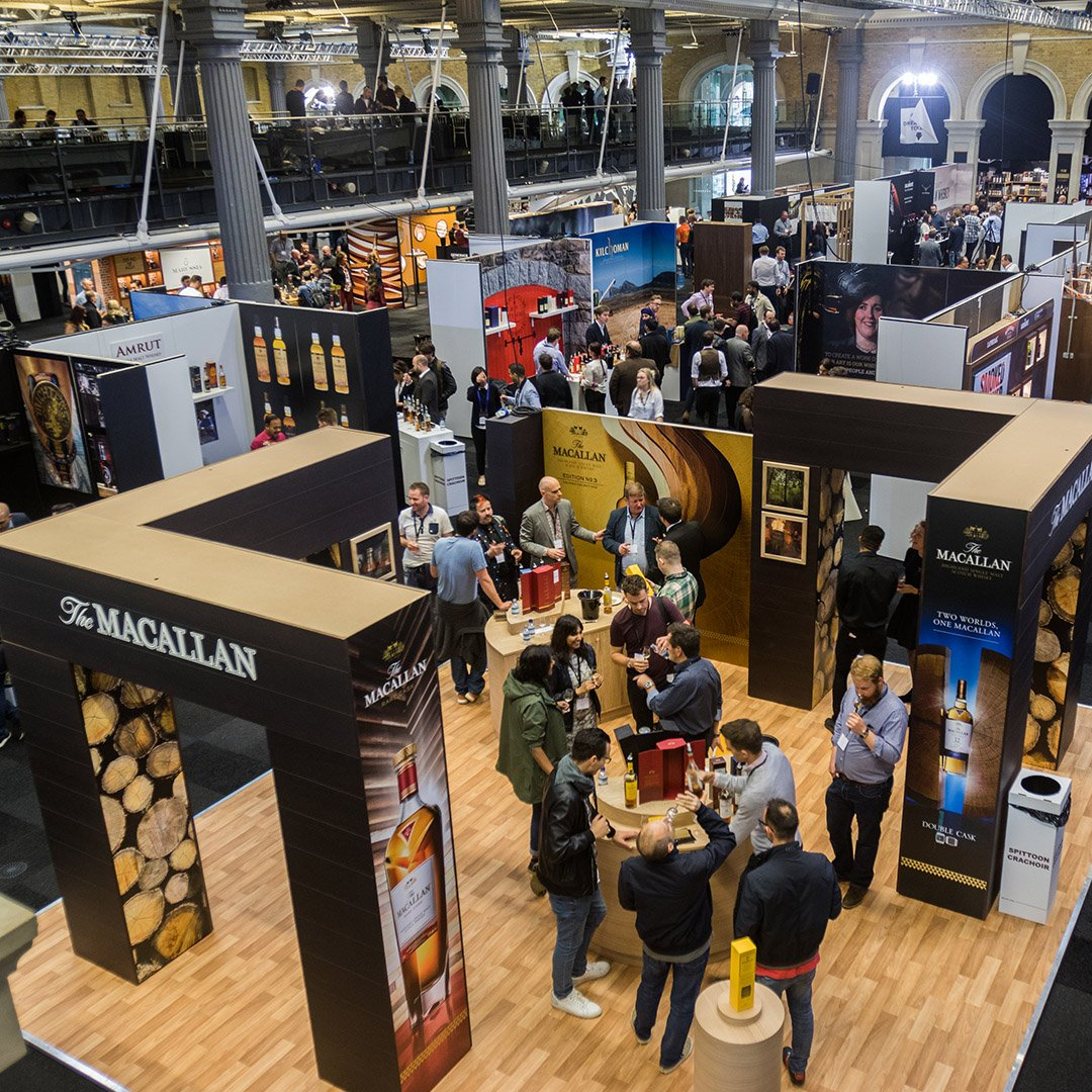 This month we are taking a look back at a few exhibitions we have worked on. We really enjoyed this one - and not just because of the whisky! #EOL #EventProfs #Exhibitions #Whisky #London