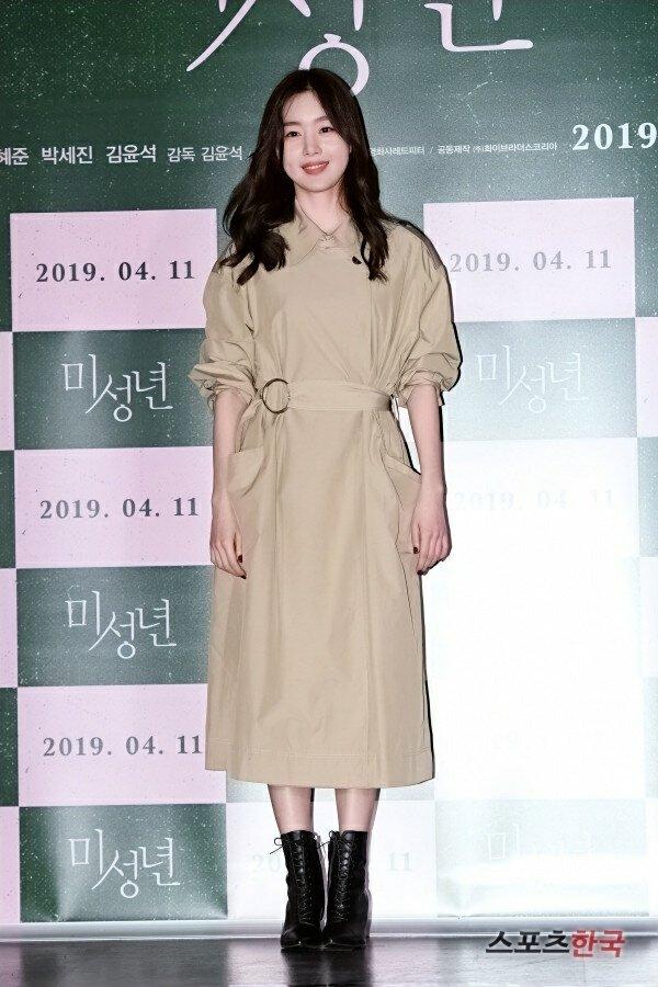 Han SunHwa at #AnotherChild VIP Premiere #한선화 #HanSunhwa #sunhwa