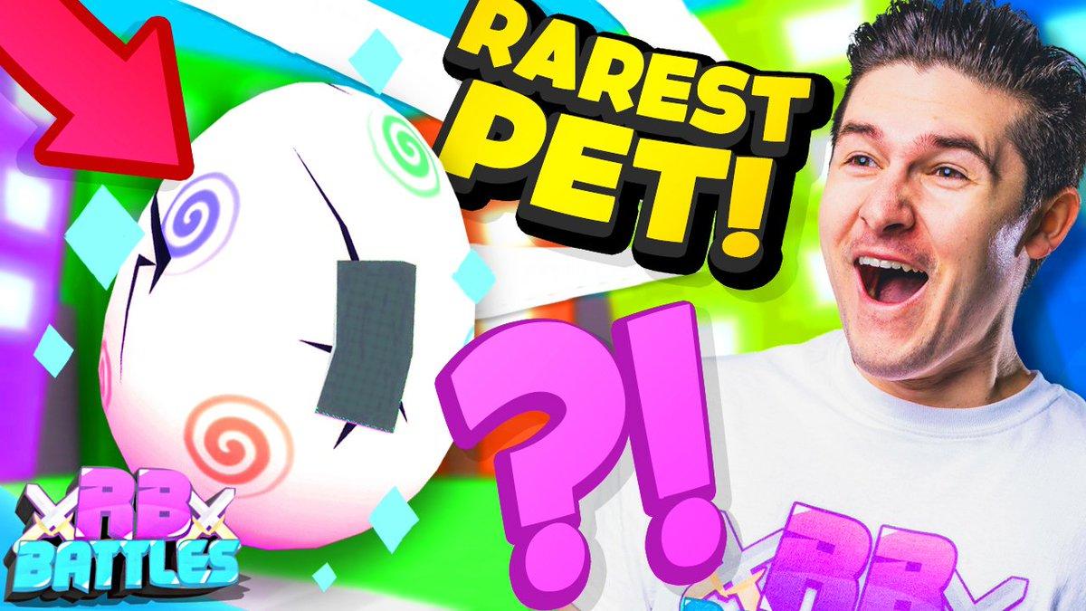 Roblox Battles On Twitter Get The Rarest Pet In Pet Simulator