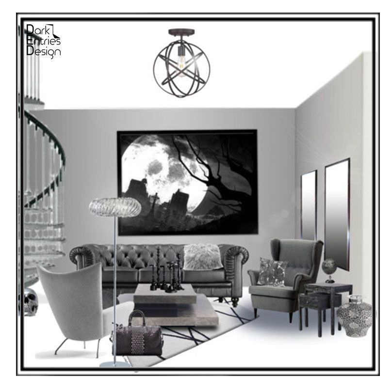 Luna Living DarkEntriesDesign EDesign InteriorDesign Home Decor Interior Design