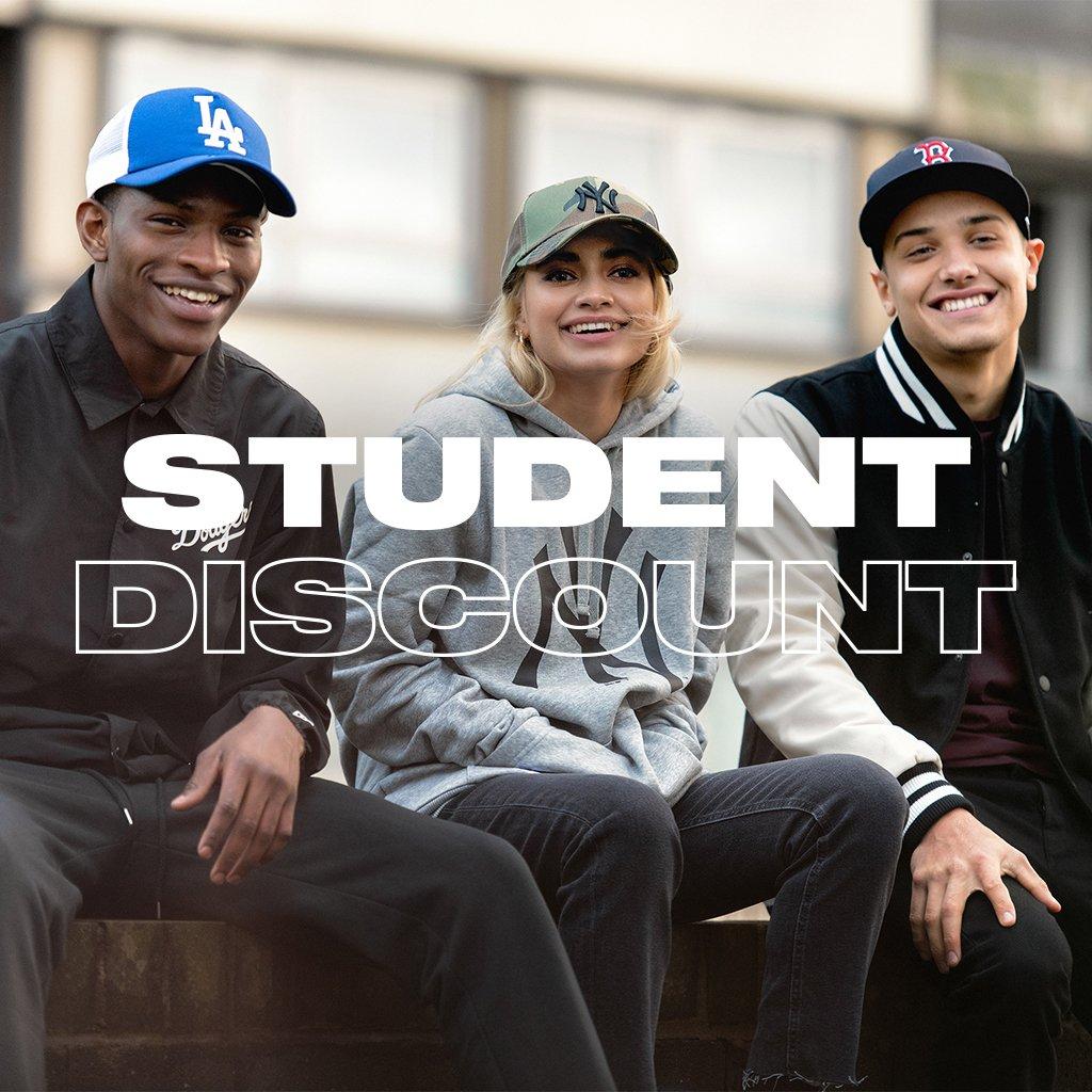 21cd30c47412c Unlock 10% student discount with  StudentBeans. Shop http   neweracap.eu to  enjoy 10% off your order.pic.twitter.com wOjHAkTXrc
