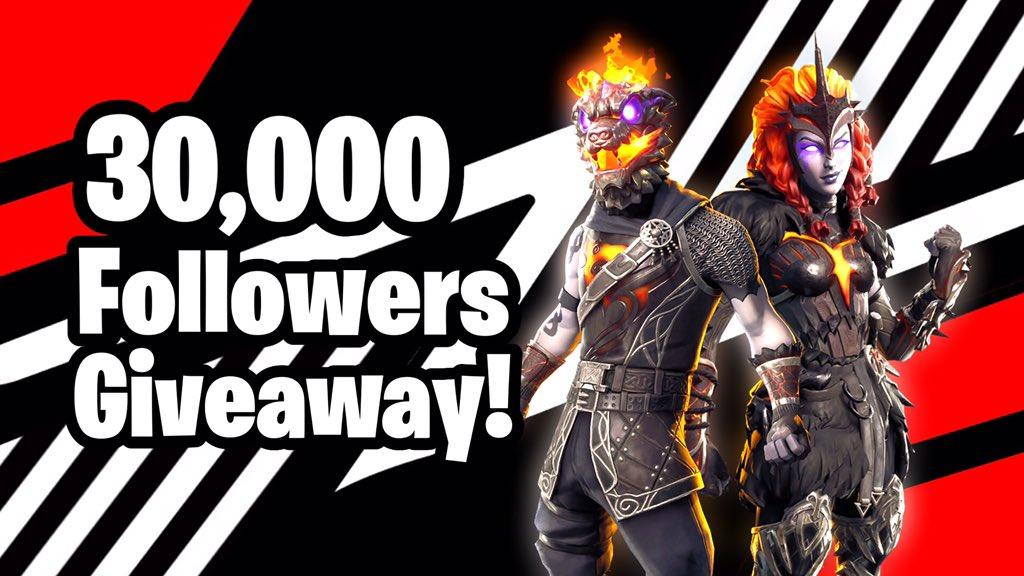 30.000 Followers Giveaway!  - Lava Legends Pack Giveaway  HOW TO ENTER:  • RT this tweet • Like this tweet  • Follow me @FortTory   Goodluck to everyone and thanks for the 30k followers <3
