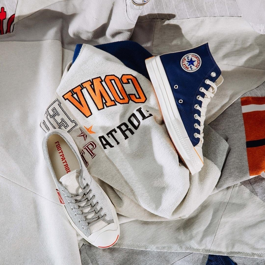 4739ac3eca148  London sneaker retailer  Footpatrol ldn has unveiled an upcoming  Converse  collaboration. https   hypb.st zl0he pic.twitter.com AEuHNDJxrq