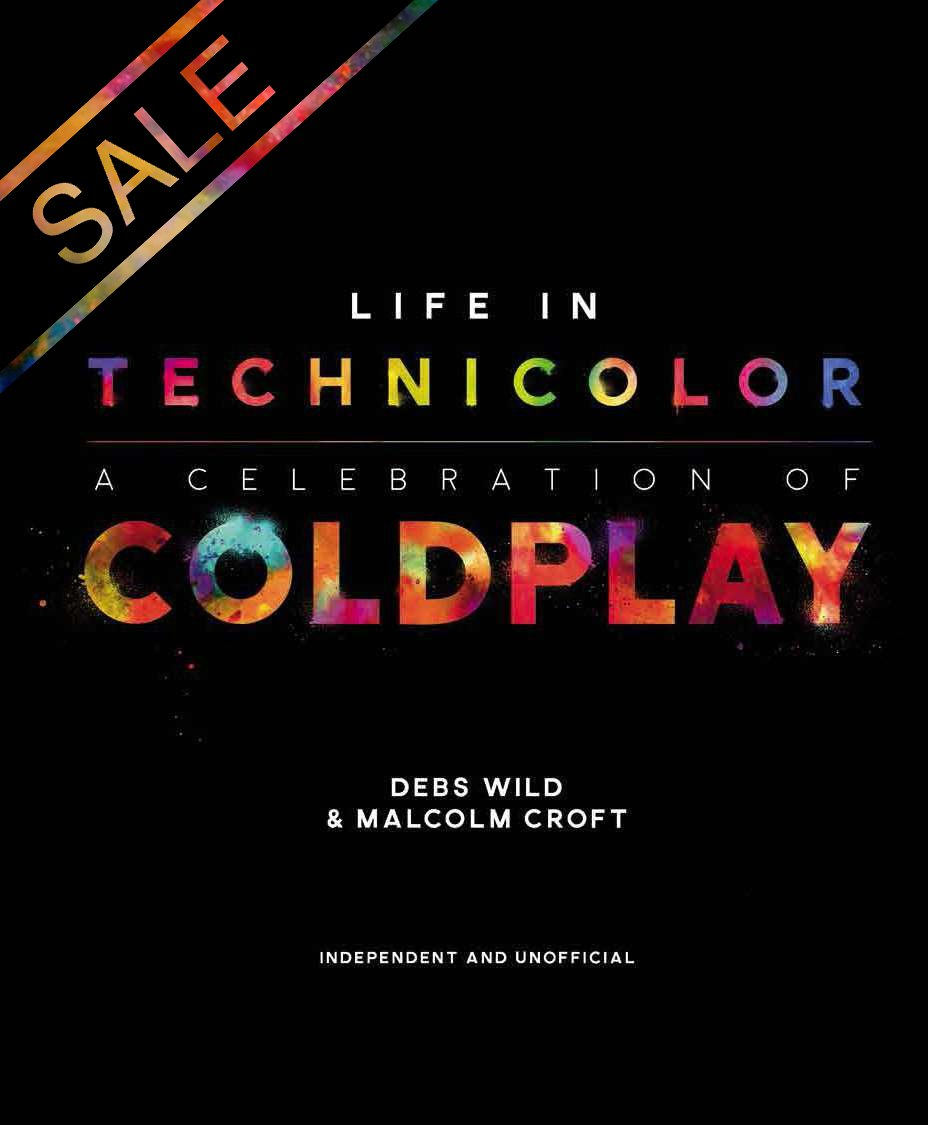 Debs is offering a spring sale on her brilliant book - Coldplay: Life In Technicolor. If you're interested in the history of our band, this book is an absolute treasure trove. musicglue.com/debs-wild PH