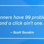 Taking our #MondayMotivation from @ssorokin .This month we'll be talking about all 99 of your landing pages problems😎. Well not all 99, just the important ones😅