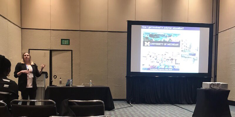 Happy to have been part of the PolyEd symposium today at #ACSOrlando sharing the #MMSS summer camp course we put together to introduce high school students to #SustainablePolymers @McNeilGrouppic.twitter.com/0YzazET61N