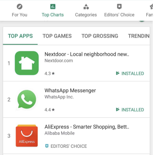 Big shout out to @NextdoorNL , which is currently the *most* popular Android App in the Netherlands. Incredible success after launching in the region only 3y ago. Proficiat!