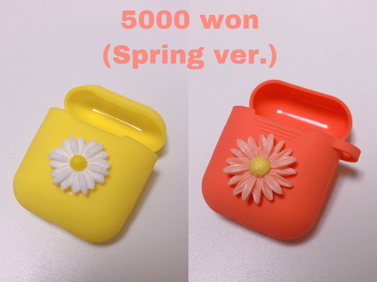 ☁️G.O.(Group Order)->Plz DM  ☁️Price: 5000 won  ☁️Shipping fee: Up to 20-3000won                         Over 20-4000won  ☁️If you want overseas delivery, Plz DM  #Airpodcase