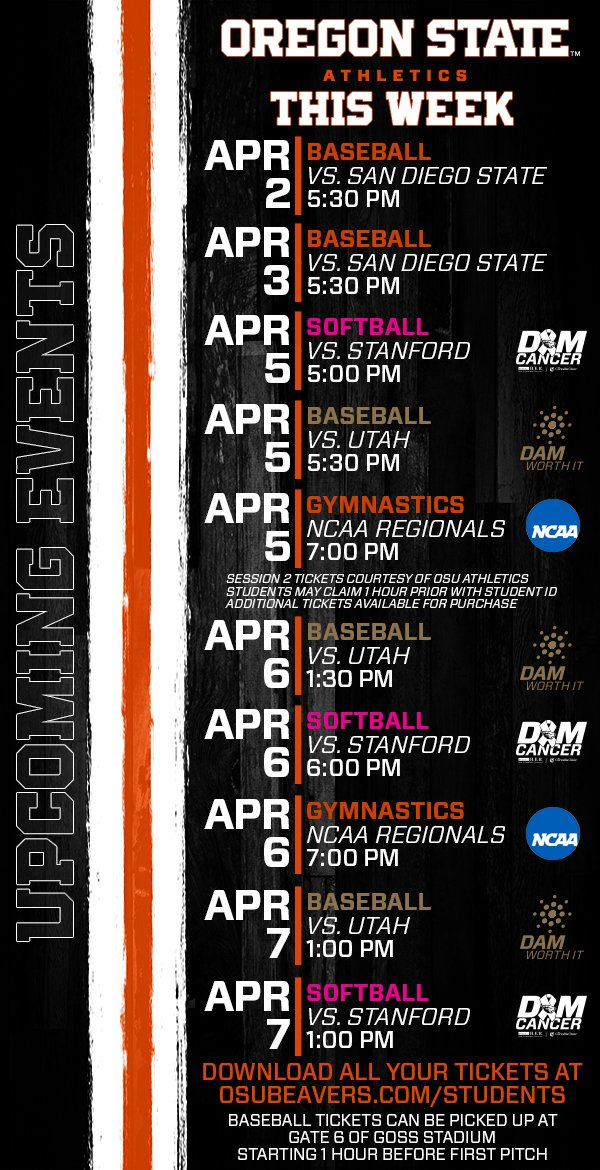 Social Media Posts for Oregon State University (out-of-state) on