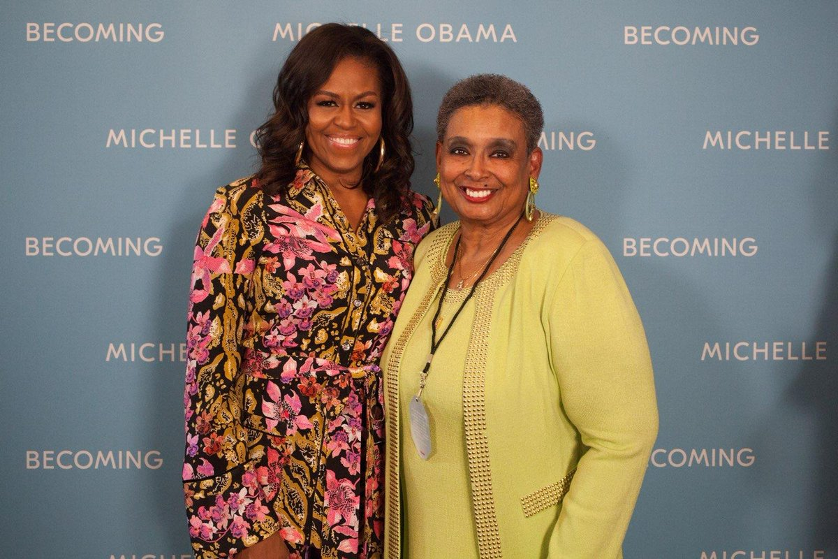 I recently met First Lady Michelle Obama. I met some of her staff, she signed my book and took this photo with me. Her visit to Cleveland reinforced my motivation to be my best self,  to write a book and to continue my work on behalf of women and girls of all colors nationally!