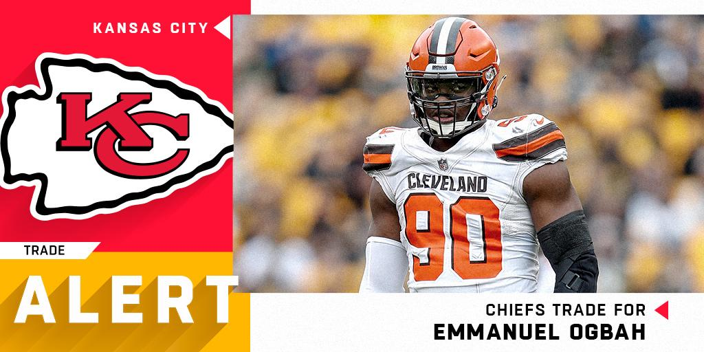 Emmanuel browns Murray Exchange Eric In For chiefs Send The To