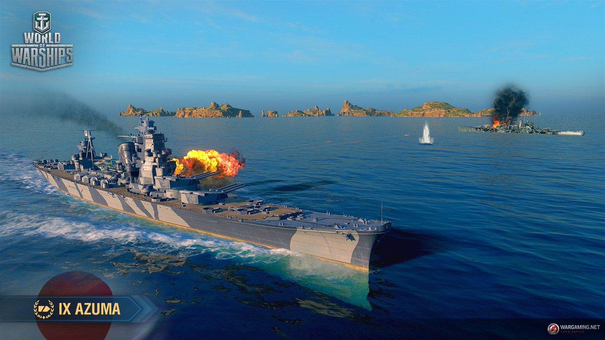 World of Warships @ #AnchorsAwayTour on Twitter: