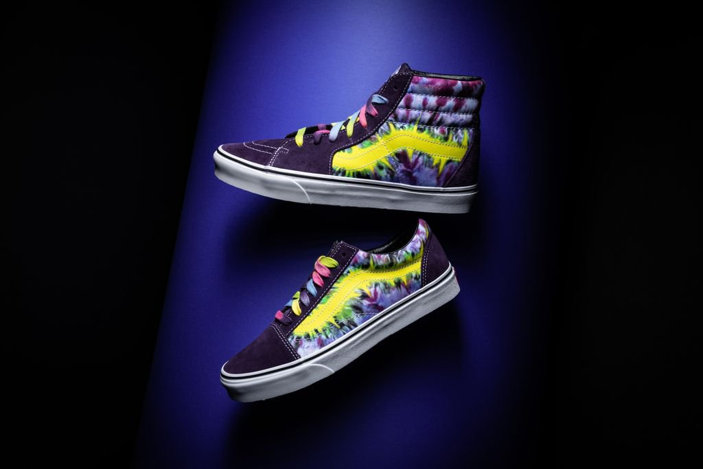 """ae4b950a6d383f Get trippy this spring with the colorful """"Tie-Dye"""" pack from Vans"""